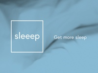 Sleeep Brand Design