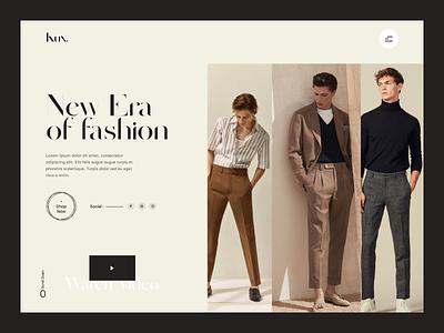 Fashion Website - Header Exploration header design header landingpage product fashion website fashion clean ui website web ux design