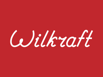 Wilkraft Lettering letters logo