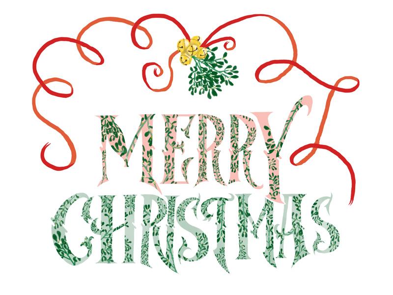 Christmas Card 2014 christmas illustration