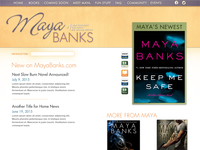 Maya Banks Site Refresh