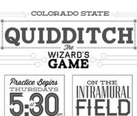 CSU Quidditch Poster
