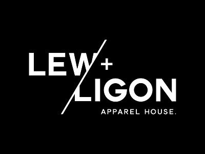 Lew + Ligon Brand Identity fashion design branding and identity graphic designer graphic  design graphic design brand identity logo designer logo design branding design branding