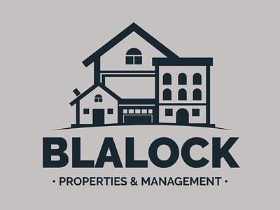 Blalock Properties - Brand Identity real estate logo graphic design graphic designer graphic  design logo designer branding design branding brand identity logo design
