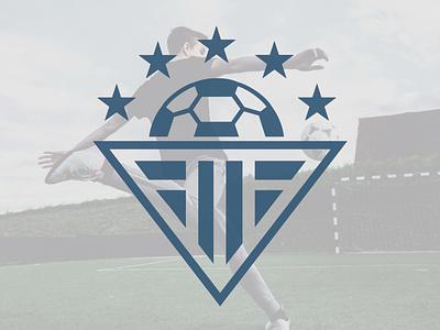 First Touch Soccer - Alternate Logo futbol soccer logo soccer soccer ball logo soccer logo branding and identity graphic designer logo designer branding design logo design brand identity