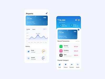 Wallet App uiux ux ui wallet ui walletapp