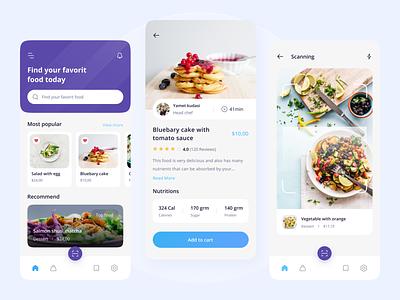 Food Mobile App ui design dribbble food order mobile food food mobile app ux ui