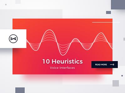 10 Heuristics of Voice UI alexa siri wave story article blog ux pink red heuristics ui voice