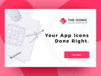 THE ICONIC - Landing Page Concept