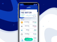 Cryptocurrency Wallet App for iOS