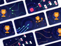 Illustrations for User Flow Story