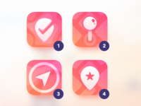 Trip App Icon for iOS