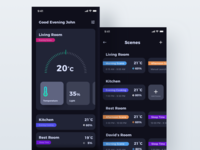Smart Home Dashboard + Scenes