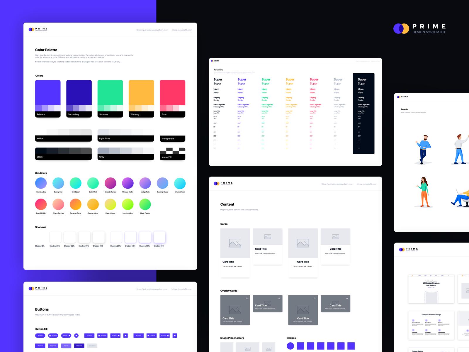 Prime design system kit