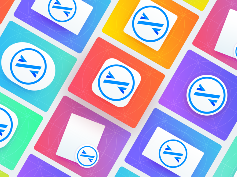 App Icons - Templates for Sketch tvos imessage icon icon tempalte watchos macos sketch template ios android app icon