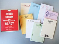 Herb Lester Hotel Notepads Set