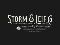 Storm & Leif Co, 1