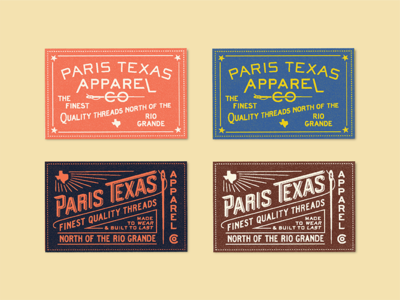 Woven Shirt Labels clothing texas custom type label design woven typography apparel