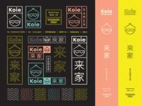 Koie Ramen Oslo / Brand Specimen