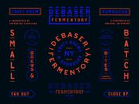 Debaser Fermentory / Brand Specimen / Night