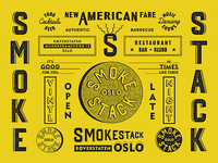 Smokestack, Oslo / Brand Specimen