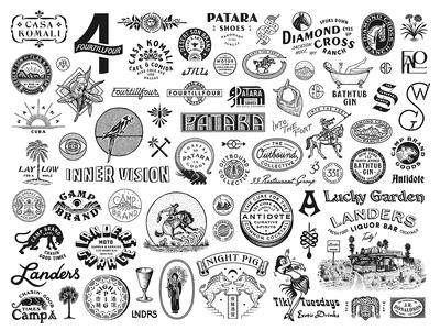 Schubert Studio 2018 marks vintage type custom type print typography type illustration graphic brand design branding