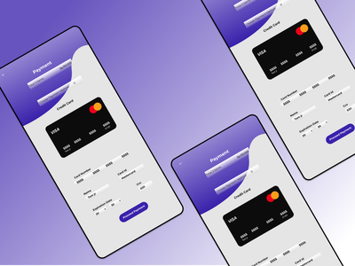 Credit Card Checkout ux ui minimal creditcardcheckout icon flat design app