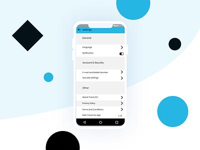 Page Settings user interface design userinterface ui dailyui design app icon app icon minimal