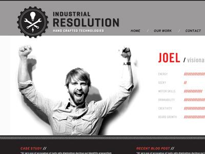 Industrial Resolution Website