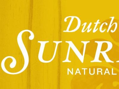 Dutch Sunrise