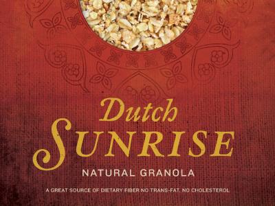 Dutch Sunrise Packaging