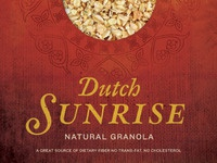 Dutch Sunrise Packaging