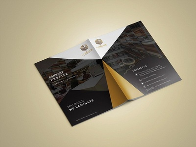 The Laminate Company Profile companyprofiledesign company branding profiles company profile