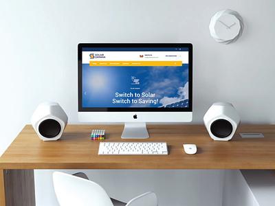 Website Development for Solar Zamana