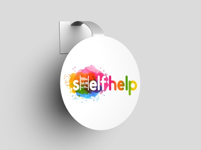 Shelf Help Branding logos branding logo design branding shelf help logodesign