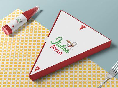 Italian Pizza Branding brand identity logodesign logos logo design branding branding pizza parlor italian pizza logo design