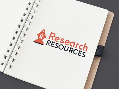 Research Resources Branding logos logo design logo brand identity branding
