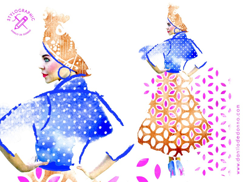Ethnic fashion model ethnic design african pattern fashion girl fashion design look book fashion trend danilo de donno stylographic style department woman print print apparel