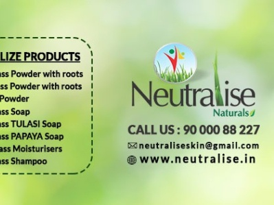 Neutralise - Natural health supplements and organic wheatgrass p