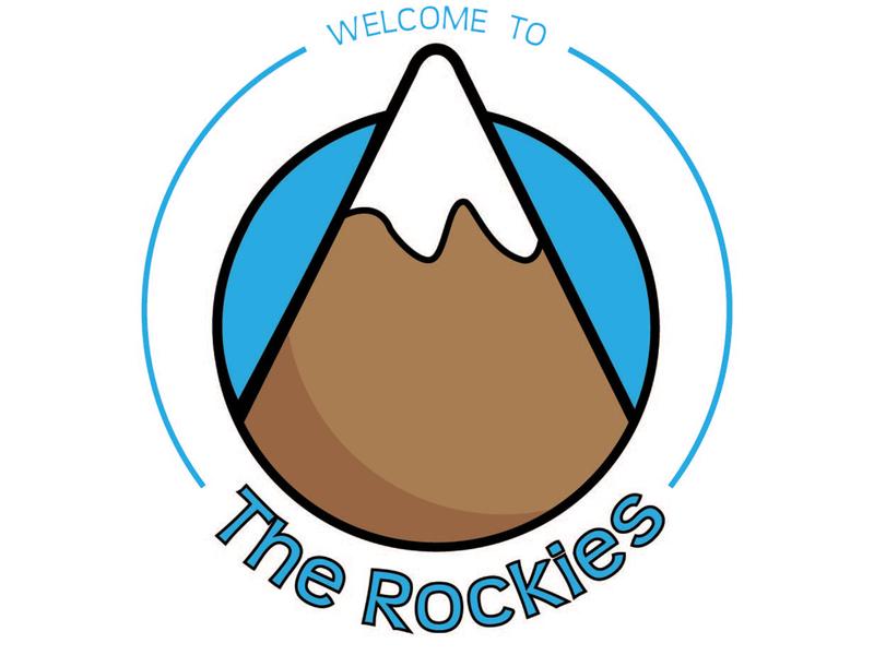 The Rockies - Logo Concept concept logo logo design concept design logos illustration vector concept branding advertising design logo