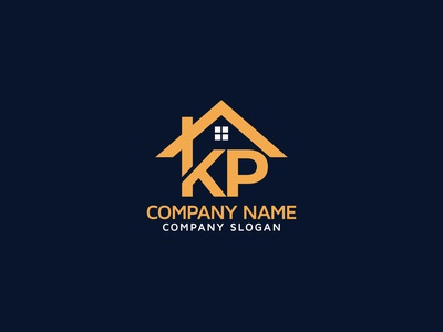 KP Real Estate Property Mortgage Home Building Logo Design logoset logosai logo designer logo mark logotype logos mortgage homelogo branding brand identity logodesign real estate logo pk logo kp kp home logo kp real estae logo kp logo logo design real estate