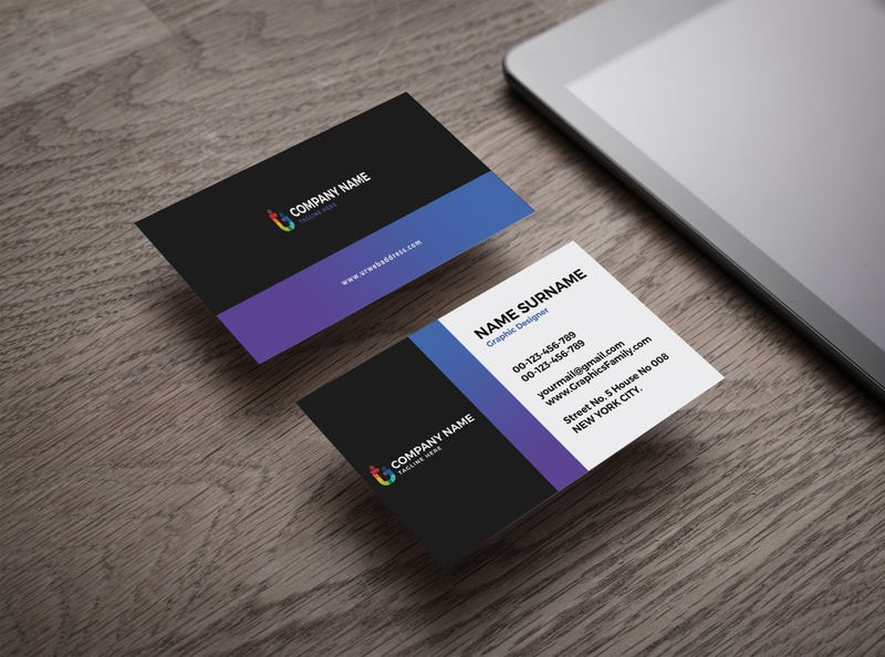 Professional Business Card Design adobe illustrator illustrator mockup template card business card template business card design design mockup design adobe photoshop photoshop