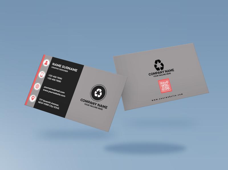 Professional Business Card Design adobe photoshop mockups design business card mockup design card mockup business card design card design photoshop