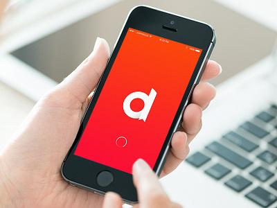 Dictionary App mockup logo economy dictionary brand