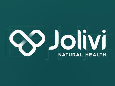 Jolivi Natural Health natural health rebranding logo