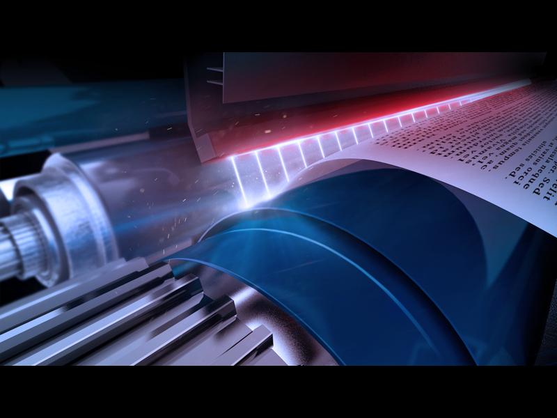 HP Toner Cartridge animation design styleframe hp printer cartridge toner c4d 3d