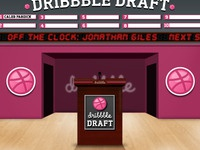 Dribbble draft stage
