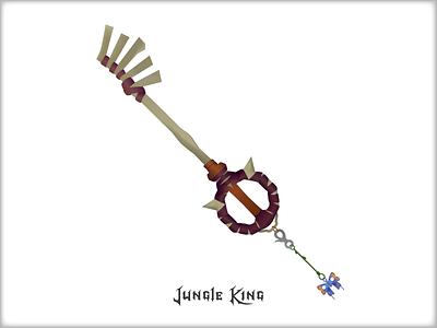 Jungle King—Kingdom Hearts square enix sora mickey hearts kingdom hearts tarzan jungle king jungle key blade keyblade key disney