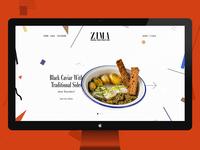 Zima Street Food Bar In London / Concept
