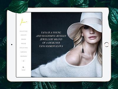 Yana designer brand jewellery luxury